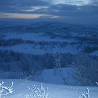 Дорога к озеру Арна, Снежногорск