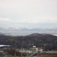 Вид на Кольский залив, Снежногорск