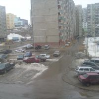 vid iz moego okna, Снежногорск