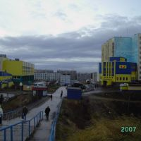 Переход (дорога жизни), Снежногорск