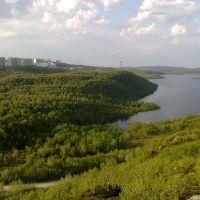 """Озеро Питьевое"""" г. Снежногорск июнь 2011, Снежногорск"""