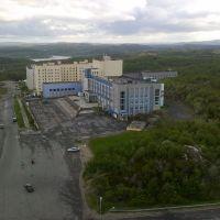 21.06.2011 вид с 9 этажа ул. Стеблина, 2, Снежногорск