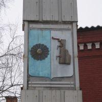 The emblem of Borovichi, Боровичи