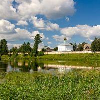 Вид на Свято-Духов монастырь    г. Боровичи, Новгородская обл., Боровичи