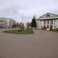 Екатерининская (Соборная) площадь, Боровичи