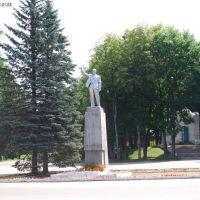 Демянск. Памятник В. И. Ленину/Demyansk. Monument to V. I. Lenin, 07.07.2011, Деманск