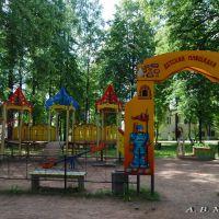 Детская площадка/Playground, 07.07.2011, Деманск