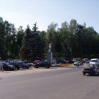 Центральная площадь, Деманск