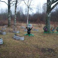 военное кладбище минеров, Деманск