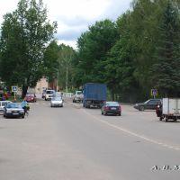 Демянск, ул. Урицкого/Demyansk, Uritsky st., 24.08.2012, Деманск