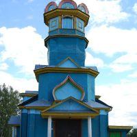 Демянск, Церковь Воздвижения Честного Креста Господня, 24.08.2012 г., Деманск