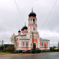 Крестцы. Троицкая церковь, Кресцы