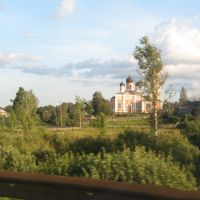 Церковь в Крестцах., Кресцы