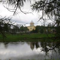 Церковь за рекой, Любытино
