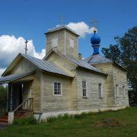 Любытино. Деревянная церковь, Любытино