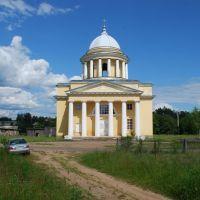 Любытино. Успенская церковь, вид с запада, Любытино