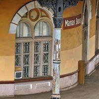 Вокзал полностью сохранился в первоначальном виде с 1856 г., Малая Вишера