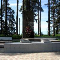 Памятник участникам ВОВ, Мошенское