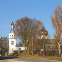St.Nicholas Church in Moshenskoye, Мошенское