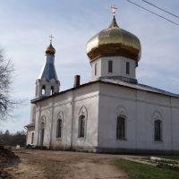 Церковь Николая Чудотворца.Мошенское.Church of St. Nicholas Chudotvortsa.Moshenskoe., Мошенское