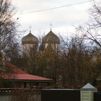 г. Великий Новгород, вид на церковь Филиппа Апостола и Николая Чудотворца.., Новгород