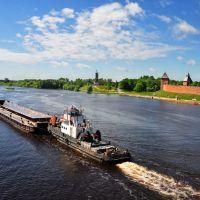 Новгород. Река Волхов, Новгород