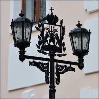 Фонарь и герб Новгорода, Новгород