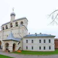 Звонница Софийского собора XV—XVIII в. - Belfry of the Sofia cathedral of the XV—XVIII century, Новгород