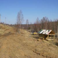 Вид на северо-восток (база), Окуловка