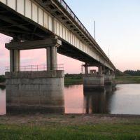 Автомобильный мост через реку Ловать, Парфино