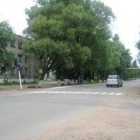 пересечение ул. Карла Маркса и ул. Ленина, Парфино