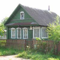 ein schönes Holzhaus, Парфино
