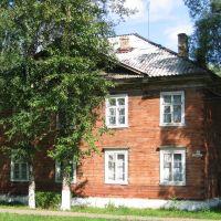 ein hölzernes Wohnhaus, Парфино