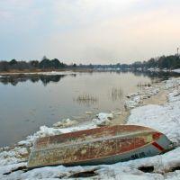 Река Молога. Весна, Пестово