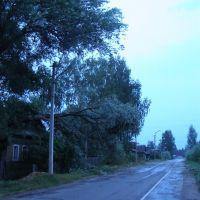 Пестово - после урагана, Пестово