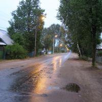 После урагана в Пестове, Пестово