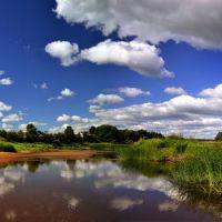 Mologa river, Пестово