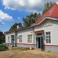 Вокзал, Пестово