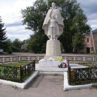 памятник солдату, Сольцы