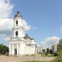 Панорама Сольцов. Ильинский собор - Panorama Soltz. Ilyinsky Cathedral, Сольцы