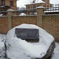 Памятный камень, Старая Русса