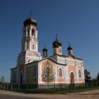 Holy Trinity Church, Krestcy, Хвойное