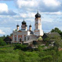Церковь в селе Крестцы, Хвойное