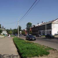 Улица Московская / Moskovskaya Street, Хвойное