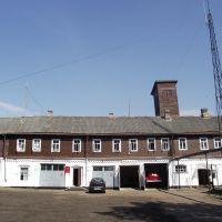 Пожарная,бывшая конюшня / Fire department, the former stables, Хвойное