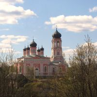 Krestsi, Russia/ Крестцы. Церковь XVIII века, Хвойное