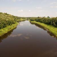 Lovat river  Река Ловать, Холм