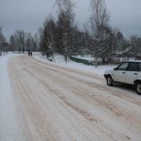 Холм, зима 2007, главная дорога (Cholm, winter 2007, Холм