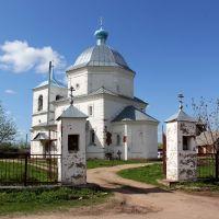 Церковь Тихвинской иконы Божией Матери, Холм