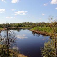 Река Ловать, Холм